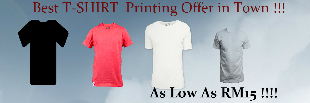 Best offer for Tshirt Printing